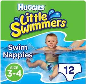 Selected Huggies Little Swimmers (12 pack) £4 and 2 for £6 on Pull Ups with free click and collect over £10 @ Boots