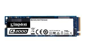 Kingston Technology A2000 M.2 1000GB PCI Express 3.0 NVMe speeds of up to 2,200/2,000MB/s* for £104.81 Delivered @ Lambda-tek