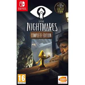 Little Nightmares Complete Edition for Nintendo Switch (Physical game with free delivery) £15.95 at The Game Collection