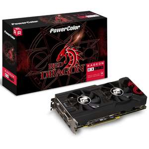PowerColor Radeon RX 570 4GB Graphics Card £132.97 delivered at Overclockers