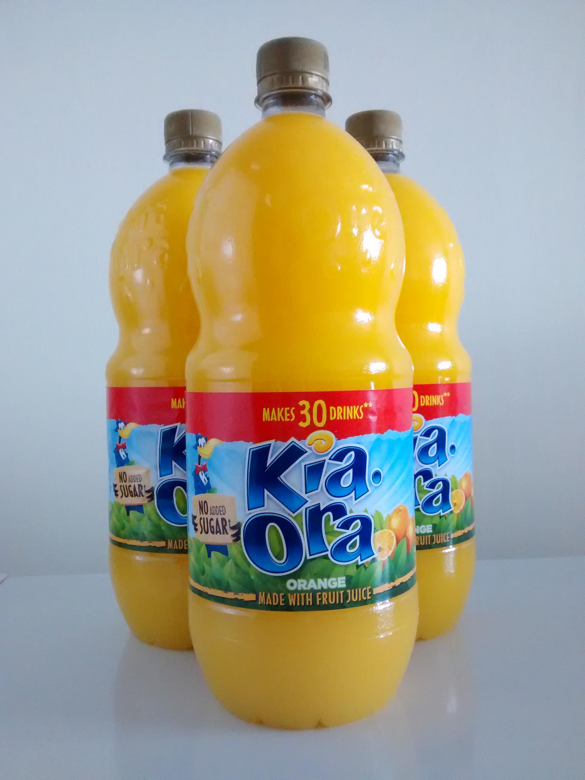 Kia-Ora Orange 1.5l for £1 @ Home Bargains
