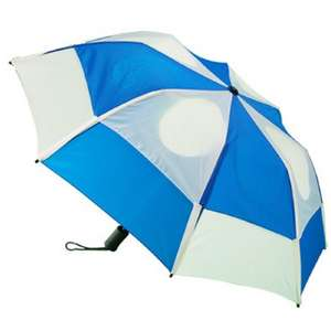 Gustbuster Metro Auto Vented Folding Wind Proof Umbrella Life Time Guarantee (see OP for different colours) £18 delivered @ UmbrellaWorld