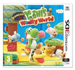 Poochy and Yoshi's Woolly World 3ds £7.99 prime / £10.98 non prime @ Amazon