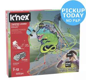 K'NEX Twisted Lizard £9.99 Pickup/+ £3.95 Shipping @ Argos eBay