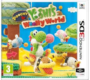 Poochy and Yoshi's Woolly World 3DS £7.99 Free Delivery @ Currys