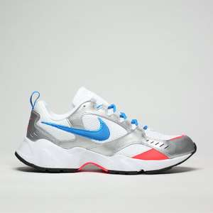 Nike Air Heights White And Blue Trainers £29.99 (Free Click&Collect) @ Schuh
