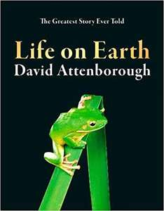 Life on Earth - Hardcover - David Attenborough £10 at Amazon
