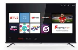 TCL 55EP648 55 Inch 4K Ultra HD HDR PRO with Freeview Play and Smart TV 3.0 £389.89 at Costco