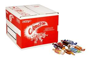 2.4kg box of celebrations £16.99 + £4.49 delivery Non Prime @ Amazon (save & subscribe £13.71 or as low as £11.89)