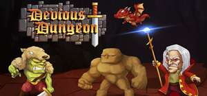 Devious Dungeon £2.49 at -50% @Steam discount offer
