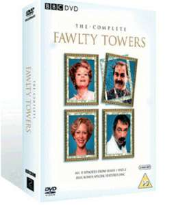 Preowned Fawlty Towers Series 1 and 2 on DVD £3.02 @ Music Magpie / Ebay