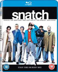 Snatch Blu-Ray £3.99 (Without Code) £3.59 (With Code) @ Zoom UK