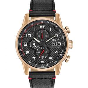 Citizen Mens Primo Chronograph Black Leather Strap Watch CA0683-08E £99.99 at TK Maxx (Free collection/£3.99 home delivery)