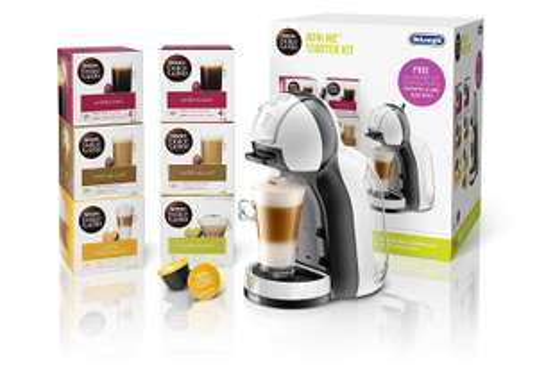 Dolce Gusto mini me coffee machine starter kit Inc 6 boxes of pods £54.99 - AmazonUK.