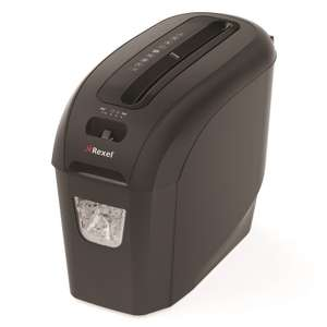 Rexel ProStyle+ 5 Cross Cut Shredder 7.5L Capacity for £14.98 Free Next Day Delivery @ Ebuyer