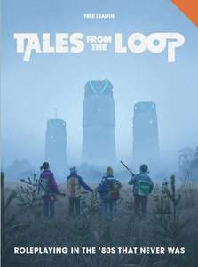 Tales From the Loop RPG book e-edition now Free @ DriveThruRPG