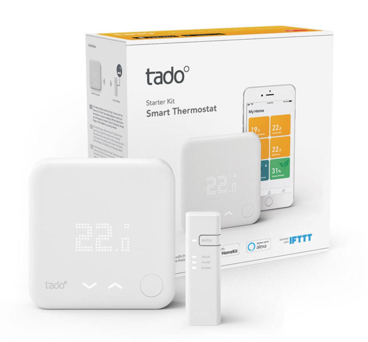 tado° Smart Thermostat Starter Kit V3+ - £99.99 delivered @ Costco - members only price