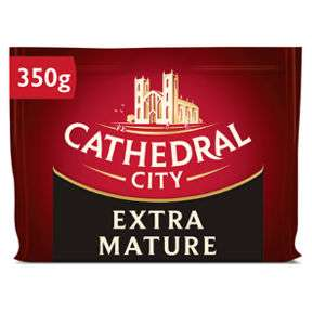Cathedral City Extra Mature /Mature / Mature Lighter / Mild / Vintage Cheddar Cheese 350g £1.89 @ Asda