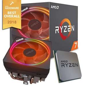 AMD Ryzen 7 2700X - 3.7GHz 8x Core Processor 16 Thread CPU - 20MB Cache-AM4 Socket - Wraith PRISM RGB Cooler for £167.98 Delivered @ AriaPC