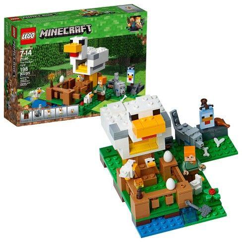 LEGO 21140 Minecraft The Chicken Coop Building Set - £14.40 Prime / +£4.49 non Prime @ Amazon