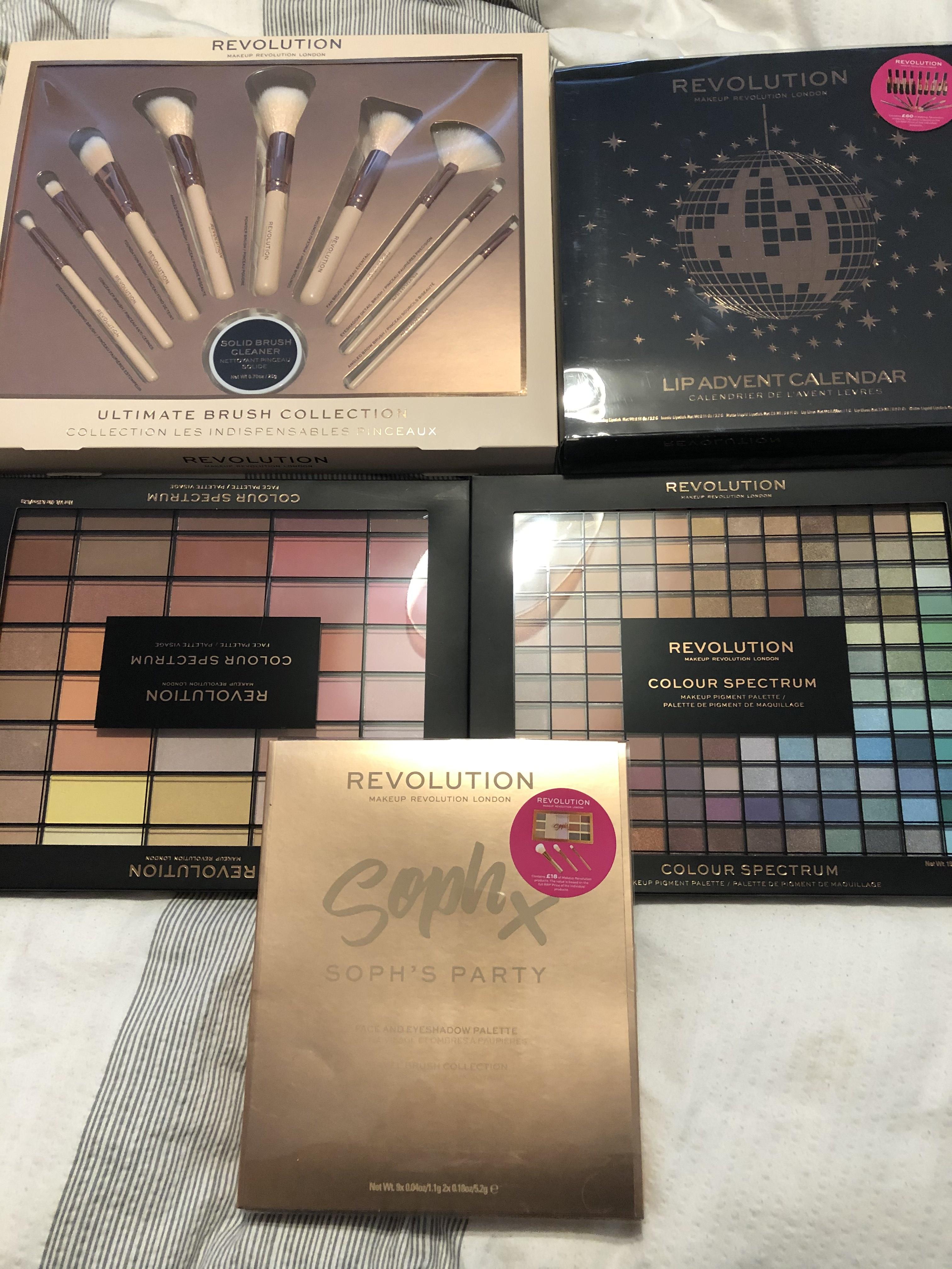 Revolution make up sets instore @ B&M e.g. make up brush set for £12