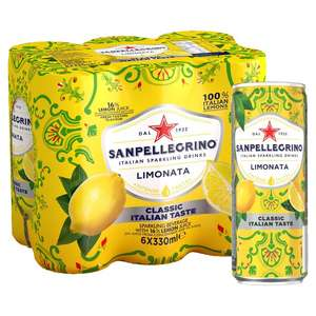 Orignal Recipe San Pellegrino Limonata & Aranciata £2.99 for 6 instore at Home Bargains
