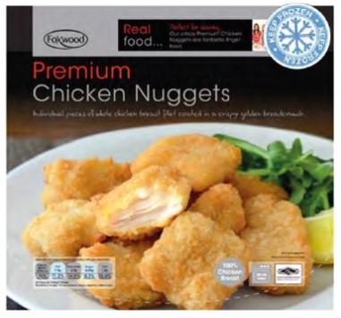 Foxwood Premium Chicken Nuggets 2kg for £7.99 @ Costco