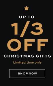 Revolution Beauty Reductions - up to 1/3 off Christmas gifts
