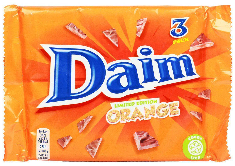 Daim Orange 3 pack 49p instore @ B&M Rugby