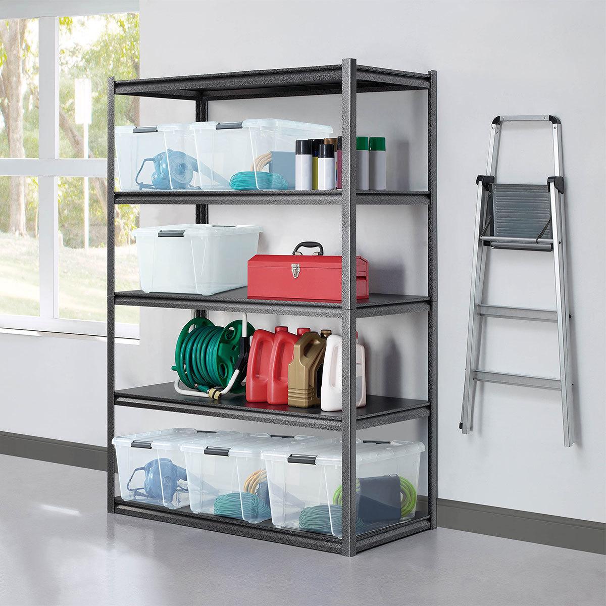 "Whalen 5 Tier 48"" (121cm) Step Beam Heavy Duty Storage Shelf Rack £53.98 instore @ Costco (Reading)"