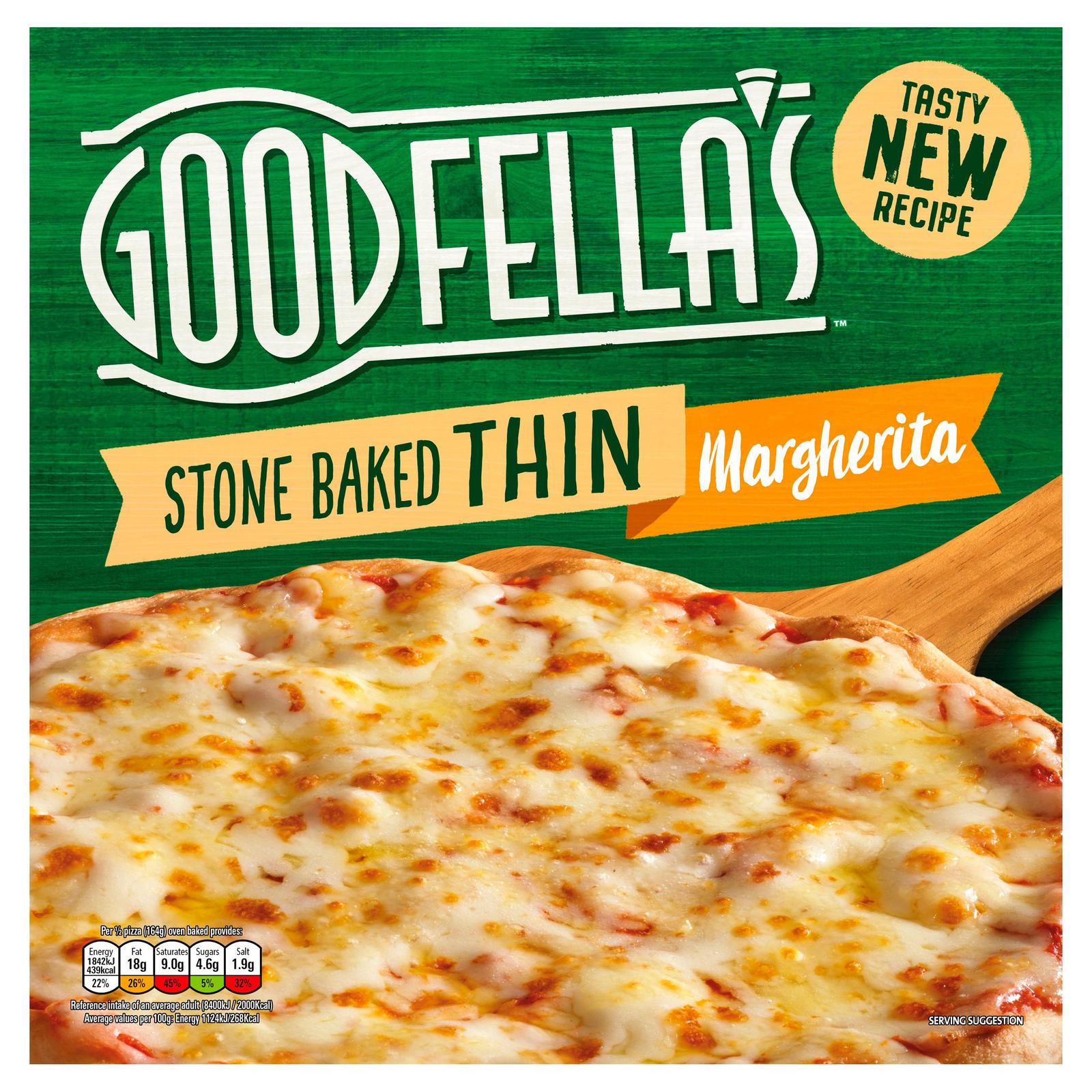 Goodfellas Pizza Margherita / Pepporoni etc £1.25 @ Sainsburys