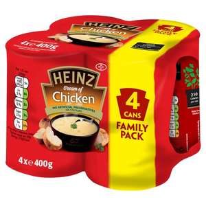 4 Pack Heinz Chicken or Minestrone soup £1.69 at Poundstretcher