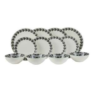 12pc Dinner Set- Stockholm £13.20 was £44.00 - Coastline £13.20 was £29.33 - Fulham Wharf Sainbury's