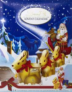 Lindt Advent Calendar Milk Chocolate 160 g (Pack of 2) - £5 @ Amazon Pantry + £3.99 Delivery Applies