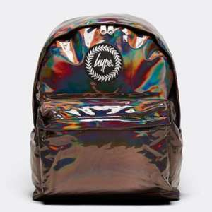 Hype Holographic Backpack now £9.99 @ Footasylum - Free click and collect