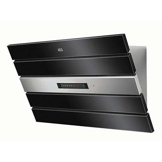 AEG 90cm Designer Black And Stainless Steel Cooker Hood - £799 @ Wickes