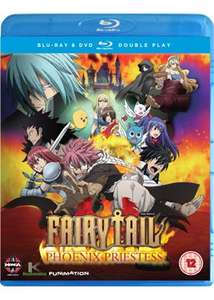 Fairy Tail The Movie: Phoenix Priestess (Blu-ray) £7.69 delivered @ Base