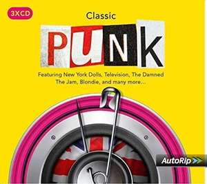 Classic Punk (3 CD Box Set) Various Artists with FREE MP3 download £4.99 (+ £2.99 delivery Non Prime) @ Amazon
