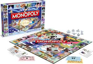 Winning Moves Monopoly Disney Classic Board Game - French Version £3.46 @ Amazon Warehouse - Used Like New (+£4.49 non-Prime)