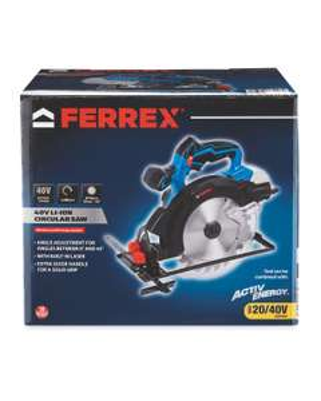 Ferrex 40V Cordless Circular Saw at Aldi for £35