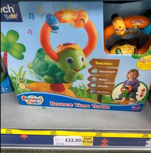 Vtech Bounce Time Turtle £22.50 at Bar Hill Tesco