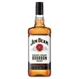 1 Litre Jim Beam Kentucky Straight Bourbon Whiskey £18 at Asda