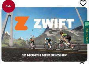 Zwift 12 months membership - £123 @ Evans Cycles