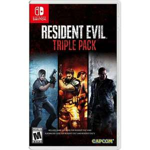 Resident Evil Triple Pack for Switch US version £50.99 @ 365games
