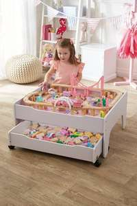 Pink Reversible City and Train Table Set 54.98 delivered @ Studio