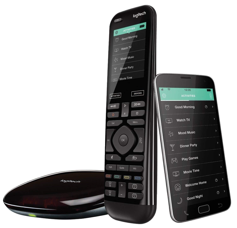 Logitech Harmony Remote Control Elite Harmony Hub and Application Design Stylish Universal Remote Control,FOR £115.99 Delivered @ Amazon UK