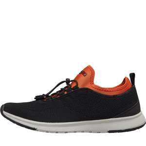 Henleys Mens Miko Trainers Black/Orange £14.98 delivered at MandM Direct