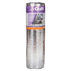 YBS SuperQuilt foil insulation for £85 (£76.50 with 10% tradepro) @ Wickes