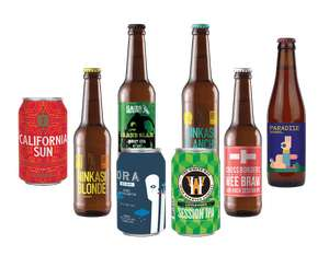 FREE Beer Box Rugby Nations 8 craft beers, Ferment magazine and a snack – just pay £2.95 delivery @ beer52