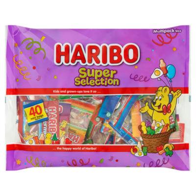 Haribo Super Selection multi pack 640g - 40 bags £2.50 at Asda